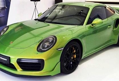 Pintura deste Porsche 911 Turbo S custa 82.000 euros