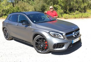 Já guiámos o Mercedes AMG GLA 45 e contamos-lhe como foi