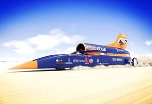 Bloodhound SSC começa testes para chegar aos 1.600 km/h