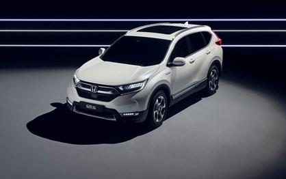 Honda revela protótipo híbrido do CR-V que vai levar a Frankfurt