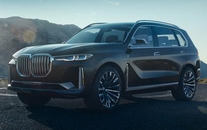 BMW em grande no salão de Frankfurt com o X7 iPerformance!