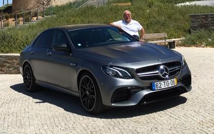 Guiámos o Mercedes AMG E63s de 612 cv e contamos-lhe como foi!