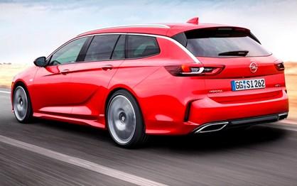 Carrinha Opel Insignia recebe sigla GSi e motor diesel de 210 cv