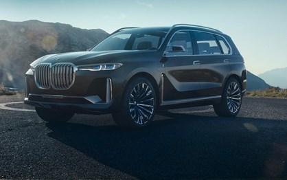"""BMW X7 Concept: """"monstro"""" híbrido e com lugar para seis"""