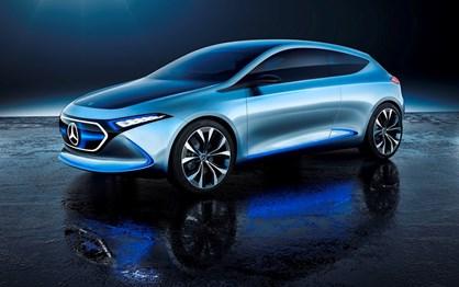 Mercedes EQA será o segundo modelo da grande ofensiva eléctrica
