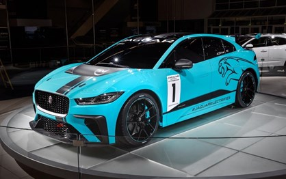 Jaguar I-PACE está pronto para a competição