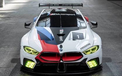BMW apresenta M8 de competição antes da versão de estrada