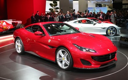 Ferrari Portofino faz a sua estreia no Salão de Frankfurt