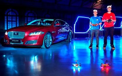 Game of Drones: Jaguar organizou corrida... diferente!