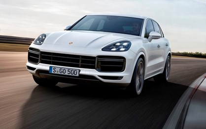 Porsche Cayenne Coupé ganha força