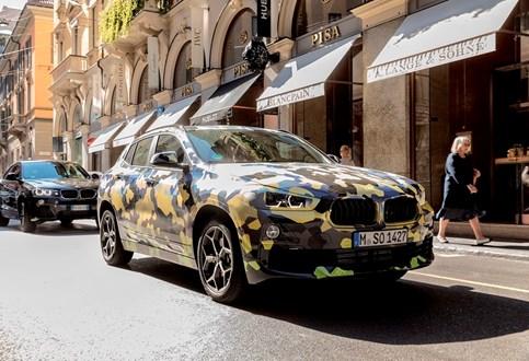 BMW X2 em Milão para roubar atenções à Semana da Moda!
