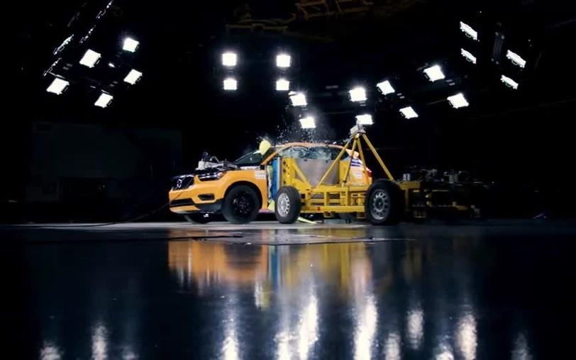 Veja como se comporta o novo Volvo XC40 num exigente «crash test»!