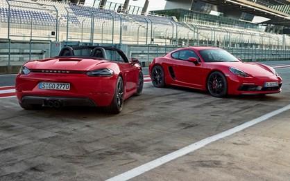 Novos Porsche 718 GTS apresentados com 365 cv