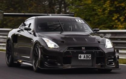 Nissan GT-R de 1100 cv quer ser o novo rei do Nurburgring