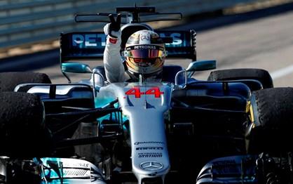 """G.P. EUA: Mercedes campeã do Mundo, Hamilton perto do """"tetra""""!"""
