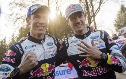 WRC Rali de Gales: as melhores imagens da festa da Ford