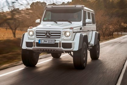 Mercedes-AMG G500 4×4² vai acabar no final do mês