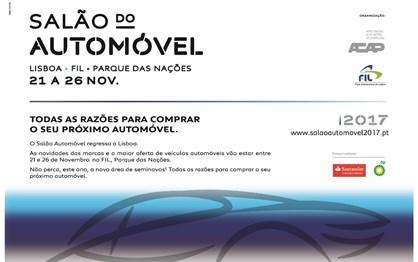 Salão Automóvel de Lisboa na próxima semana
