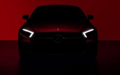 Mercedes mostrou primeiras imagens do novo CLS