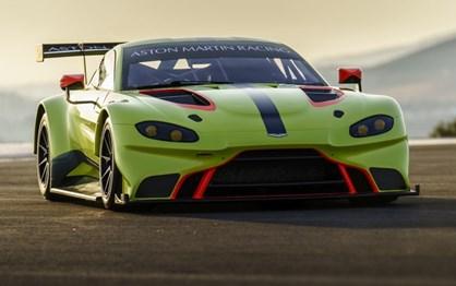 Novo Aston Martin Vantage também já está pronto para as pistas