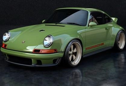 Singer uniu-se à Williams para criar Porsche 911 com 500 cv e 990 kg