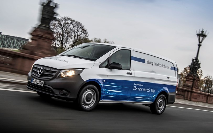 Mercedes Vito totalmente eléctrica já está disponível na Alemanha
