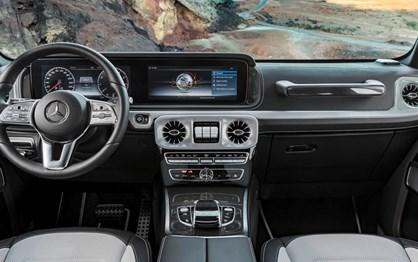 Conheça já o interior do novo Mercedes G que chega em Janeiro