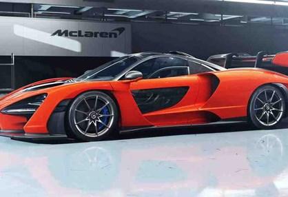 McLaren homenageia Senna com hiperdesportivo de 800 cv!
