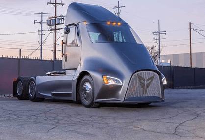Camião eléctrico da Thor Trucks quer meter Tesla Semi em sentido!