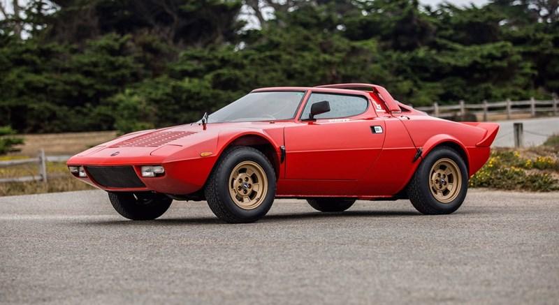 Pode licitar por este belíssimo Lancia Stratos de 1974 até 4.ª feira!