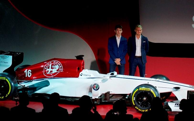 A história da Alfa Romeo na F1 e as imagens do seu regresso
