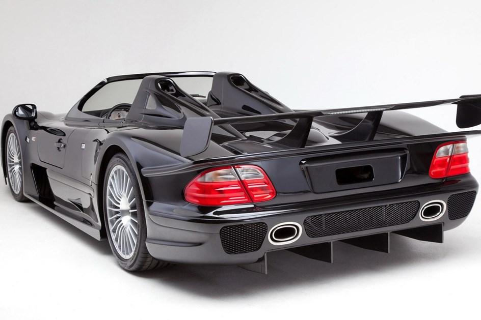 ... O Nascimentou2026 Relâmpago De Uma Lenda: Há 20 Anos, O Mercedes CLK GTR ...