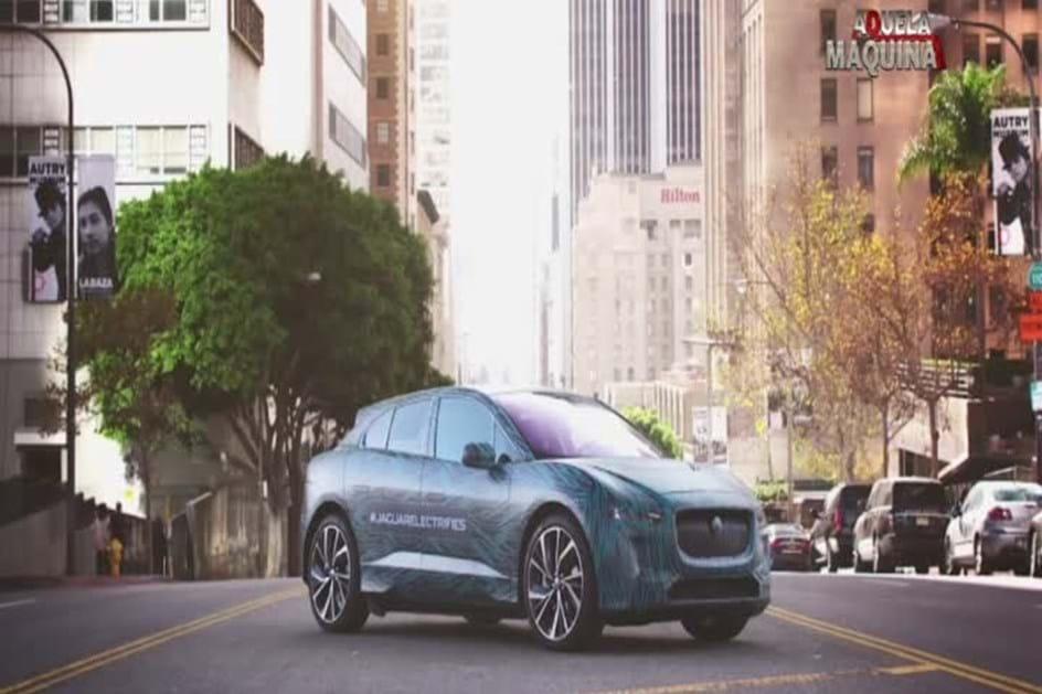 Jaguar I Pace Concept Andou Pelas Ruas De Los Angeles
