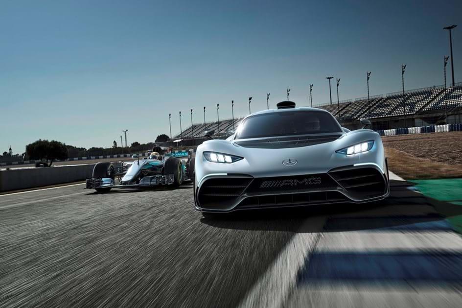 Português pagou 3 milhões por Mercedes-AMG Project One