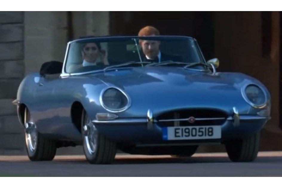 Jaguar E Type Eléctrico Brilhou No Casamento Real ...