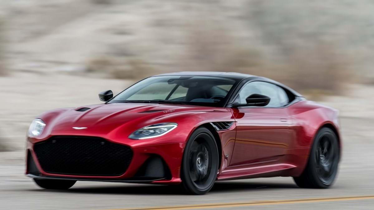 Aston Martin Dbs Superleggera De 700 Cv E Herdeiro Do Vanquish Actualidade Aquela Maquina