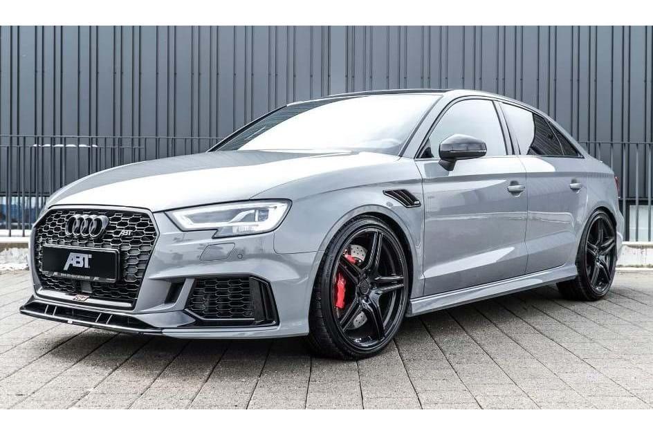 "Audi RS3 Sedan vira ""besta"" de 500 cv pelas mãos da ABT ..."