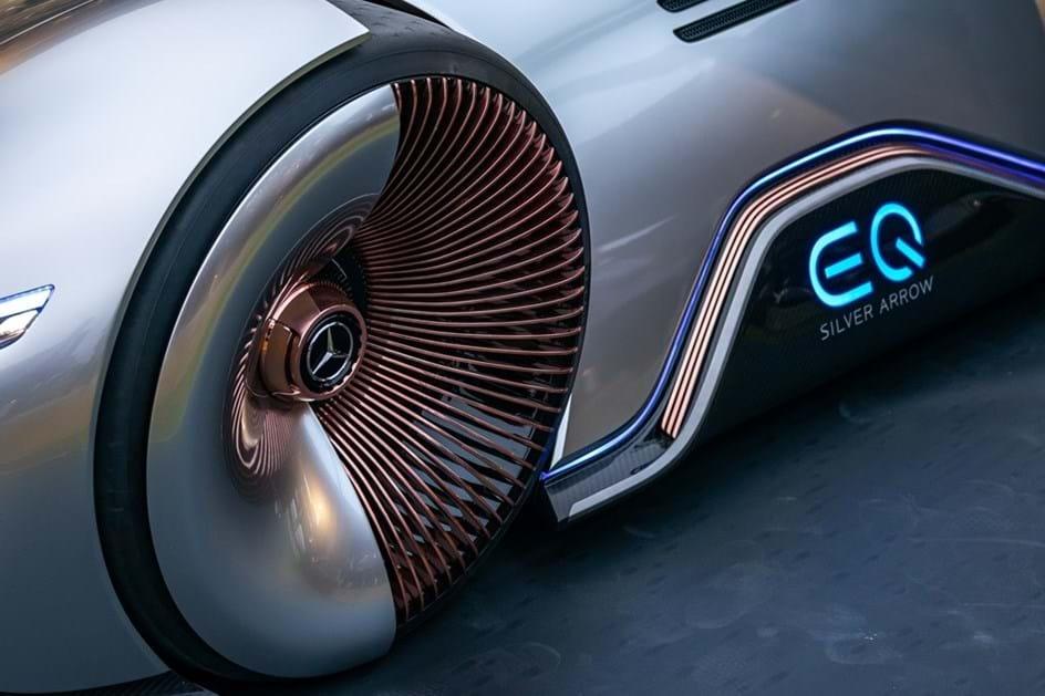 ... Mercedes Benz EQ Silver Arrow é O Flecha De Prata Do Futuro ...