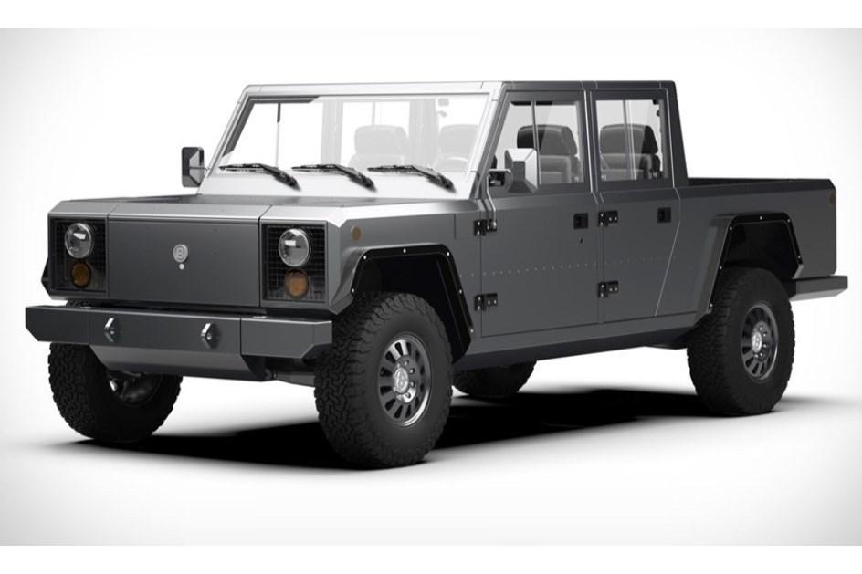 Bollinger B2 Pick Up Do Futuro E Electrica E Quadrada