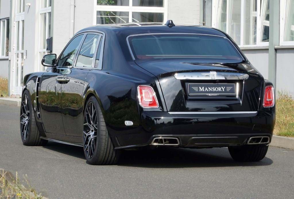 Mansory Criou Rolls Royce Phantom Infernal Com 610 Cv Actualidade Aquela Maquina