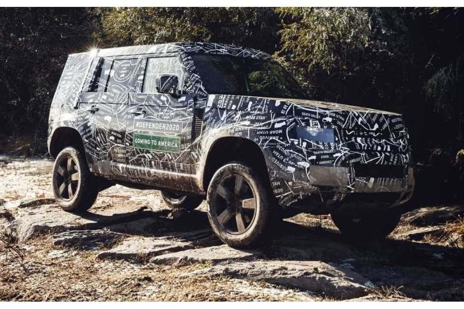 Novo Land Rover Defender surge em 2019 e será vendido em