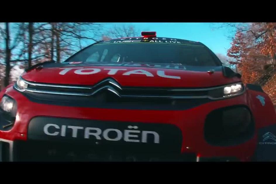 Citroën C3 WRC está pronto para a nova temporada de ralis