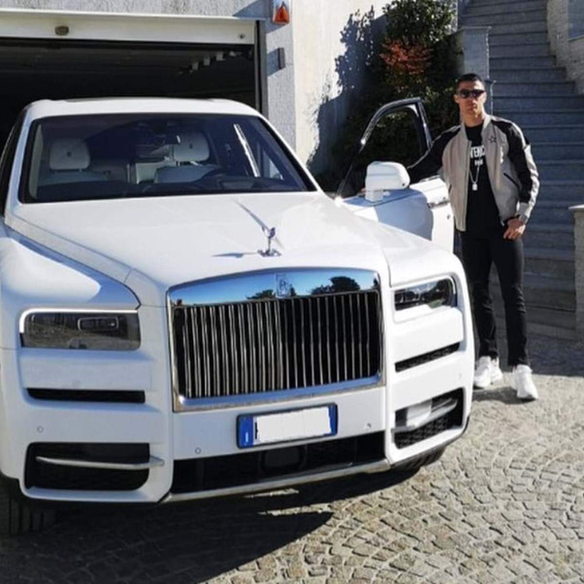Cristiano Ronaldo Apresentou Rolls Royce Cullinan De 700 Mil Actualidade Aquela Maquina