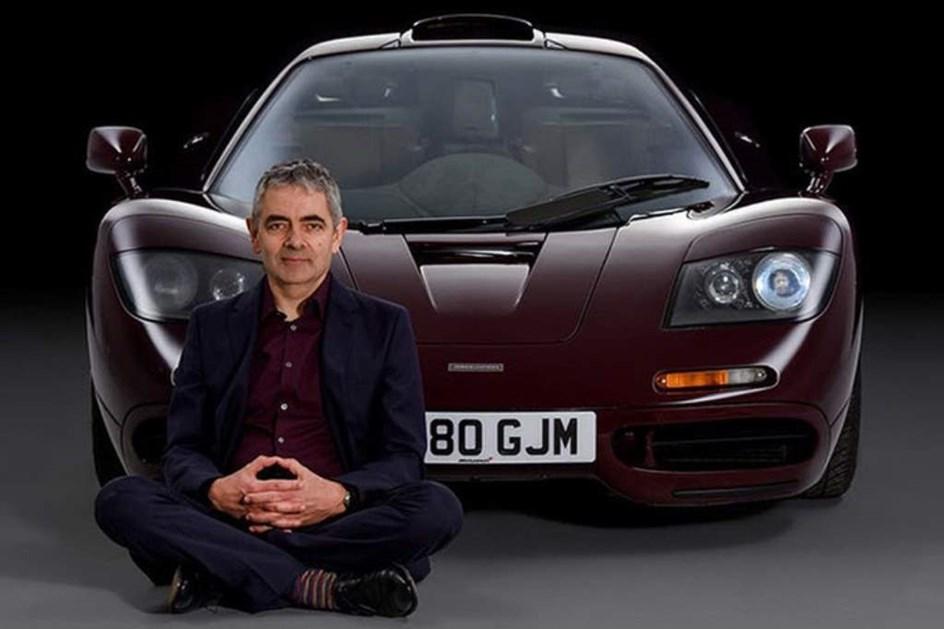Rowan Mr Bean Atkinson Tem Colecção Automóvel Milionária Actualidade Aquela Máquina