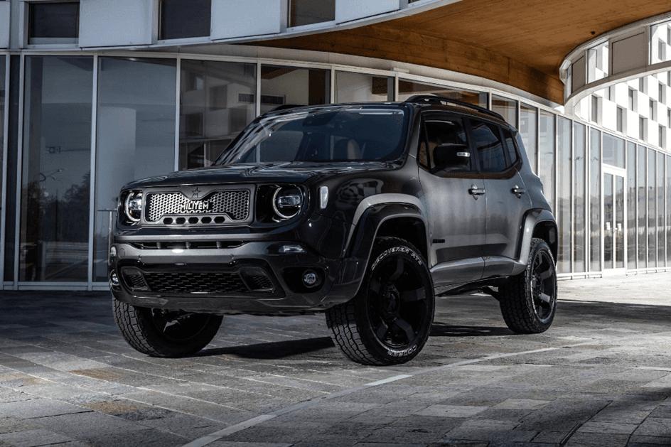 Jeep Renegade Transformado No Darth Vader Pela Militem