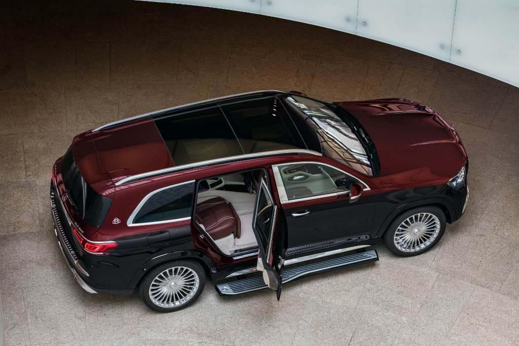 Novo Mercedes Maybach Gls Sinta Se Como Um Lord Inglês Salões Aquela Máquina