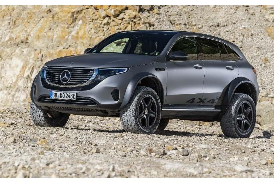 Mercedes-Benz EQC 4×4²: um monstro eléctrico para subir montes e vales